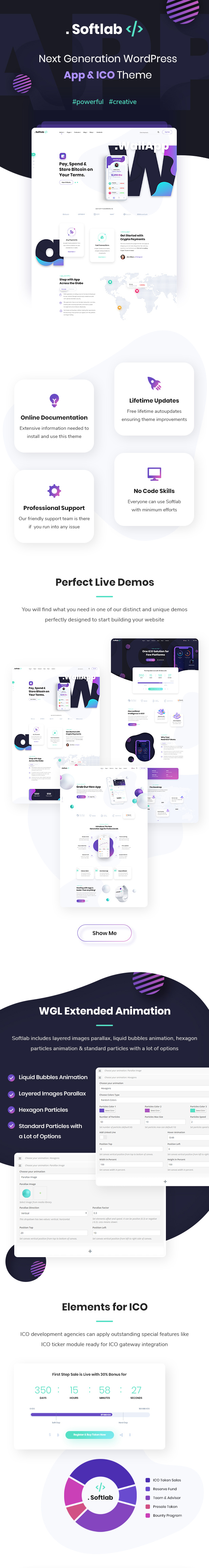 Softlab - Startup and App WordPress Theme - 1